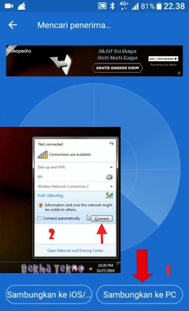 Cara Kirim File Dari Hp Ke Laptop Tanpa Kabel Usb Dengan Mudah Via SHAREit Terbaru Lengkap Dengan Gambar