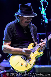 Carlos Santana performing at Lock'n 2015