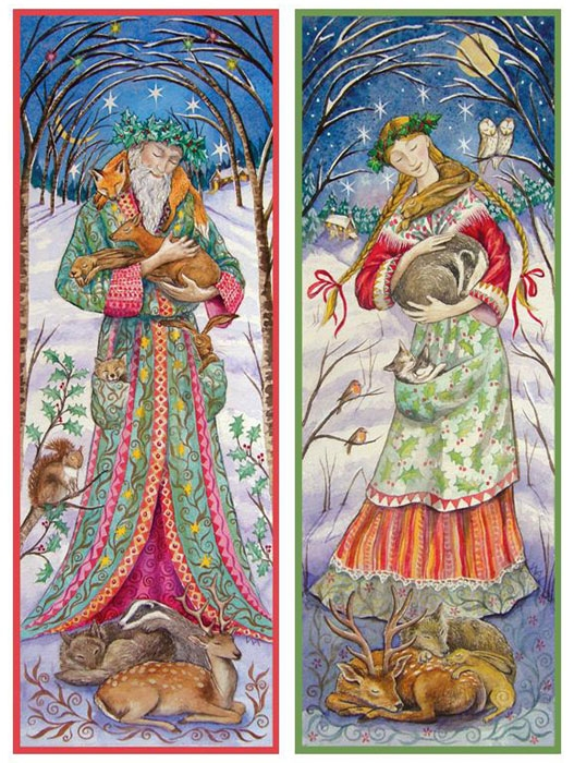 Celtic Lady BLESSED YULE
