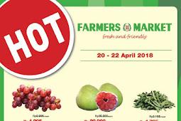 Katalog Promo Farmers Market Weekend Terbaru 20 - 22 April 2018