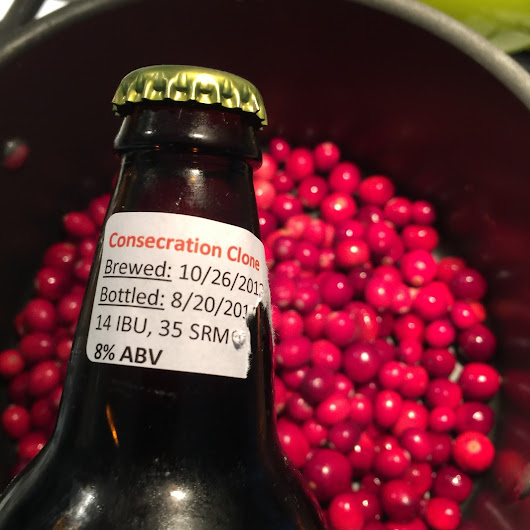 Sour Beer Cranberry Sauce Recipe