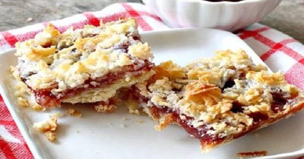 Strawberry Shortbread Bars Recipe