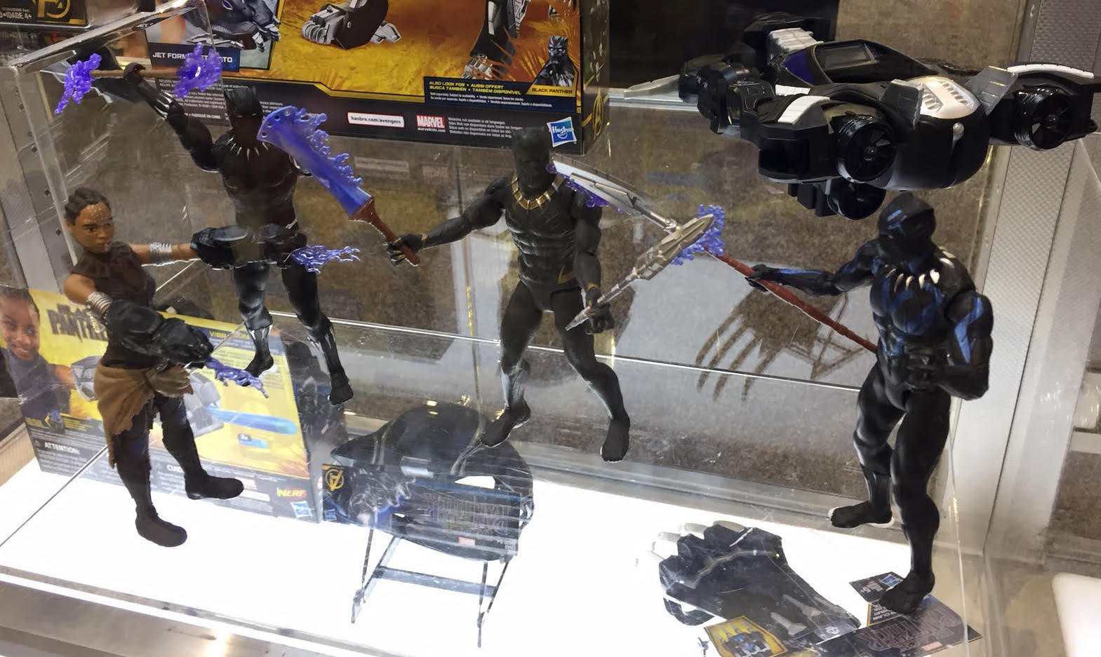 Not Toys For 2018 From Moive : Hascon black panther movie figures revealed