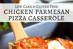 Low Carb Chicken Parmesan Pizza Casserole