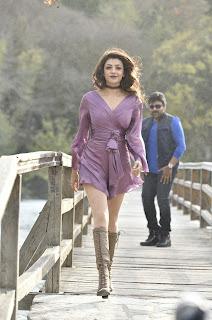 Kajal Aggarwal looks like cute doll in movie Khiladi No 150