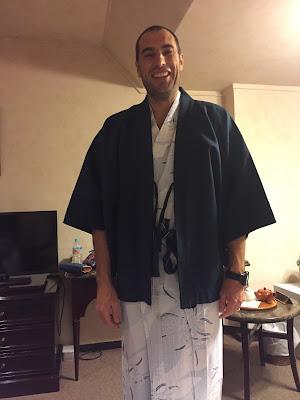 Javi con yukata