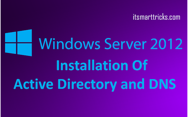 This tutorial will explain how to install AD on server 2012 R2. Requirement: Minimum: 1.4 Ghz 64-bit processor Minimum: 512 MB RAM Minimum: 32 GB or greater The first step is to get server 2012 install on a server. it is very similar to server 2008 install