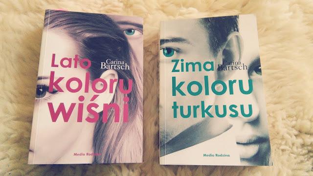 """,,Zima koloru turkusu"""" Carina Bartsch"""