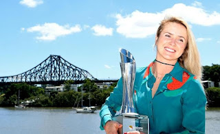 Svitolina wins Brisbane 2018 title