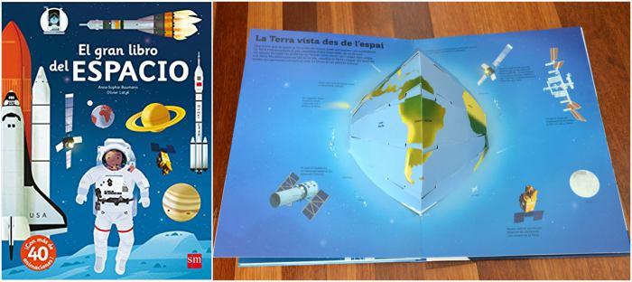 cuentos infantiles, libros conocimientos informativos el gran libro del espacio sm