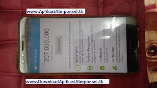 Bisnis online tahun 2018 aplikasi atm ponsel menghasilkan uang 207juta