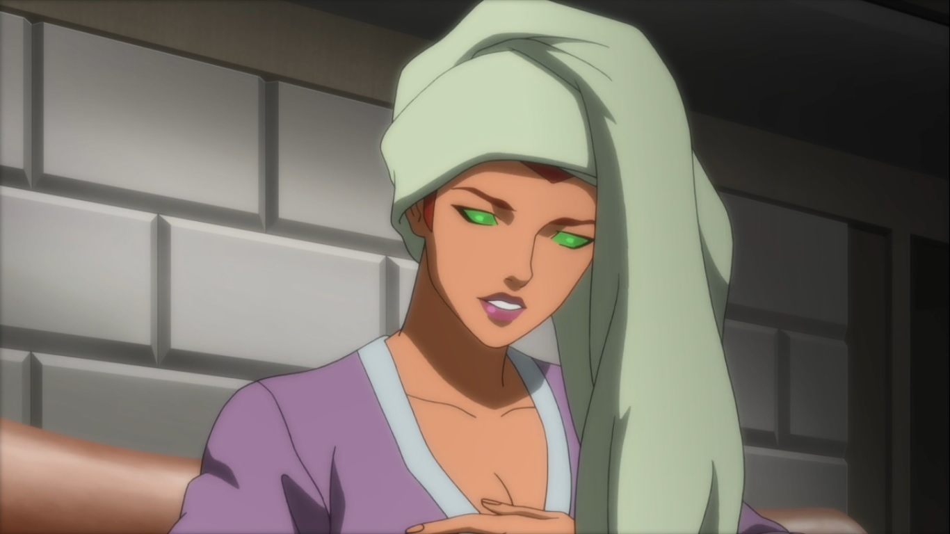 Anime Feet Justice League Vs Teen Titans Starfire-1698