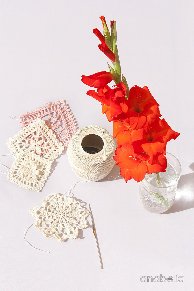 Trying new crochet lace motifs | Anabelia Craft Design blog | Bloglovin\'