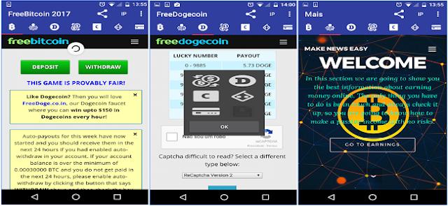 Aplikasi Android FreeBitcoin