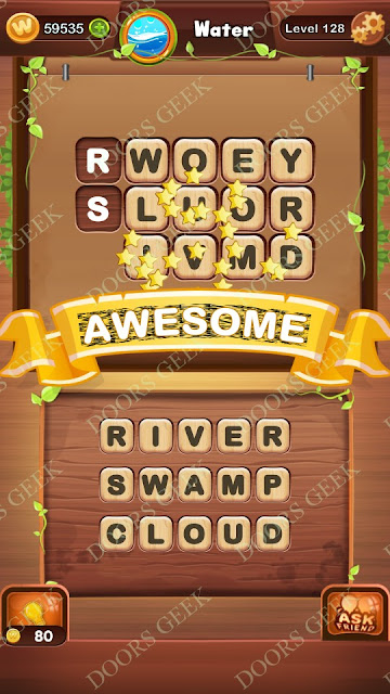 Word Bright Level 128 Answers, Cheats, Solutions, Walkthrough for android, iphone, ipad and ipod
