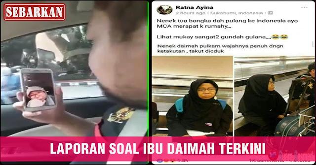 BERIKUT INFORMASI TERKINI DARI Ibu Binti Daimah Tamami , Setelah Diburu Dan Akan Dipersekusi FPI
