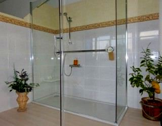 Begehbare Dusche Maße