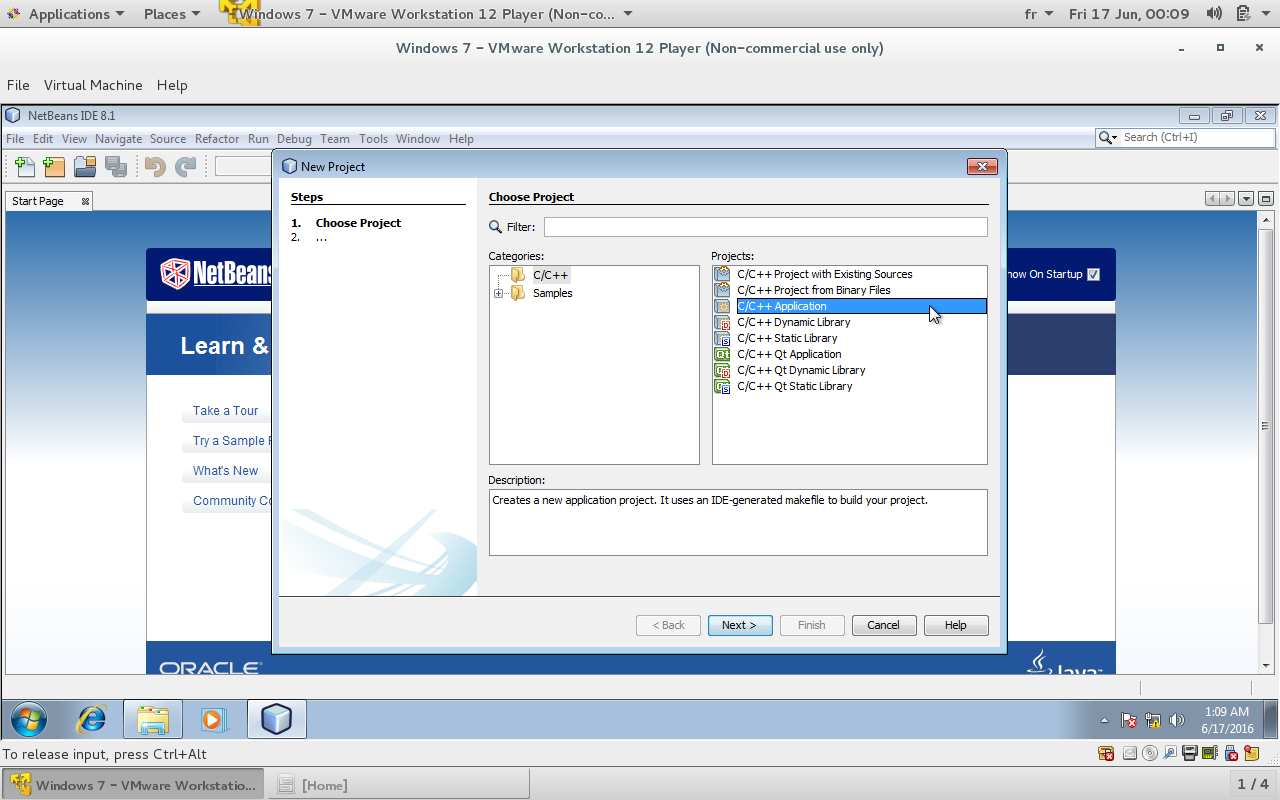 Gtkmm Tutorial: how to configure netbeans IDE for gtkmm on