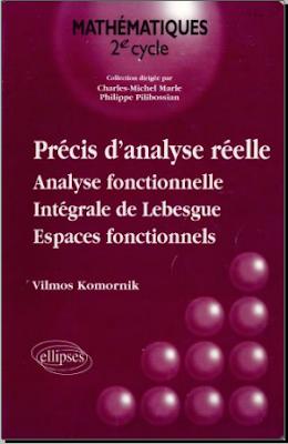 Livre Gratuit Précis d'Analyse Réelle - Analyse fonctionnelle, Intégrale de Lebesgue, Espaces fonctionnels pdf