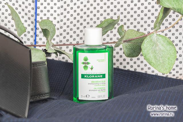 Klorane Себорегулирующий шампунь с экстрактом крапивы: отзывы