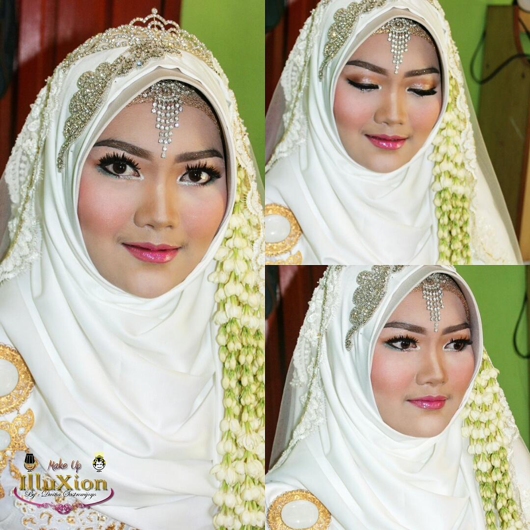 Tutorial Hijab Syari Pengantin