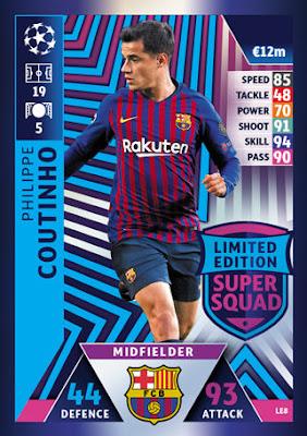 8070b948e UEFA Champions League Match Attax 2018 19. Topps