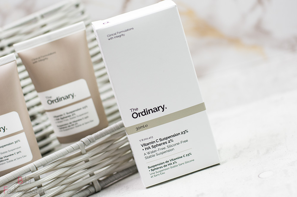 The Ordinary Vitamin C Suspension 23% HA Spheres 2% Umverpackung