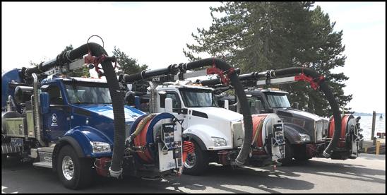 City of Kirkland, Washington Kenworth T880 Vacuum Trucks