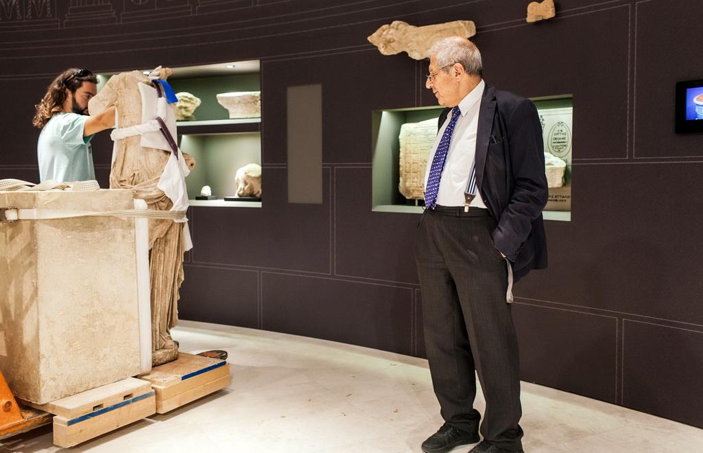 Ο Δήμος Σαμοθράκης τιμά τον Καθηγητή και Πρόεδρο του Μουσείου Ακρόπολης Δημήτρη Παντερμαλή
