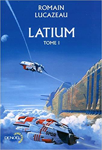 Manchu est l'auteur de la couverture de Latium de Romain Lucazeau