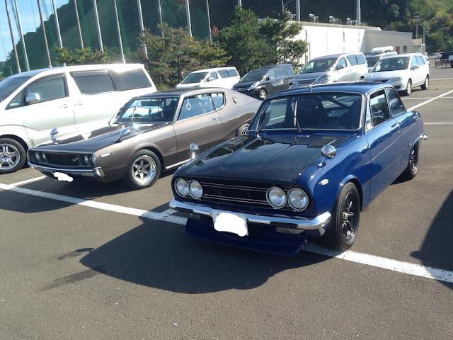 Nissan Skyline & Isuzu Bellett, motoryzacja z dawnych czasów