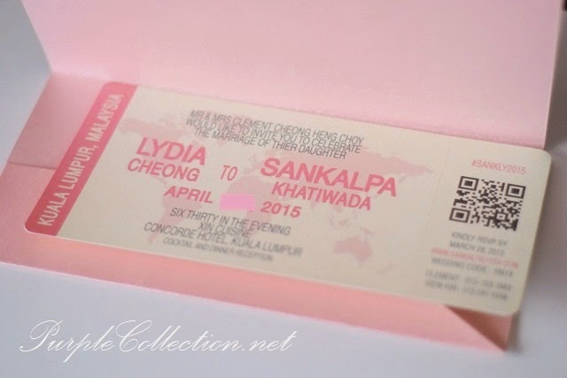 Pink Wedding Boarding Pass Card, kuala lumpur, selangor, singapore, JB, johor bahru, perak, ipoh, penang, seremban, melaka, pahang, kuantan, bentong, terengganu, sabah, sarawak, miri, sandakan, kuching, bintulu, kota kinabalu, printing, cetak, travel, pocket, envelope, pearl material, purchase, online, buy, personalised, personalized, china, export, import, custom design, handmade, hand crafted, unique, creative, special, peonies, floral, flower, cute, sweet, simple, vendor, chinese button, world map, affordable, wedding decorator, decoration, services, kad kahwin, australia, perth, sydney, melbourne, victoria, canada, america, portfolio, concorde hotel, favour, favor