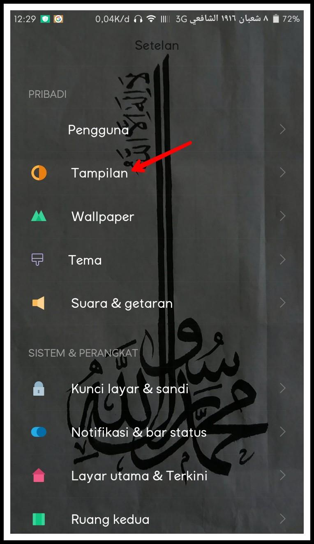 cara download font di hp xiaomi
