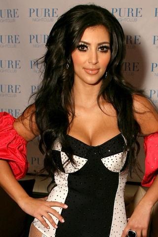iPhoneZone: 20 Hot Girl Kim Kardashian Wallpapers for iPhone