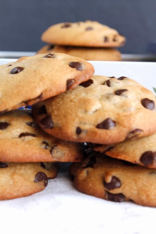 Receta Cookies con chips de chocolate