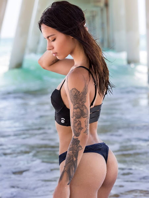 Sleek 2 Piece Bikini in Black