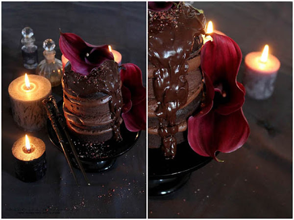 [Magical October] Harry Potter Kuchen: Death by Chocolate Death Eater Dessert