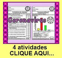 compilado com 70 atividades sobre o coronavírus