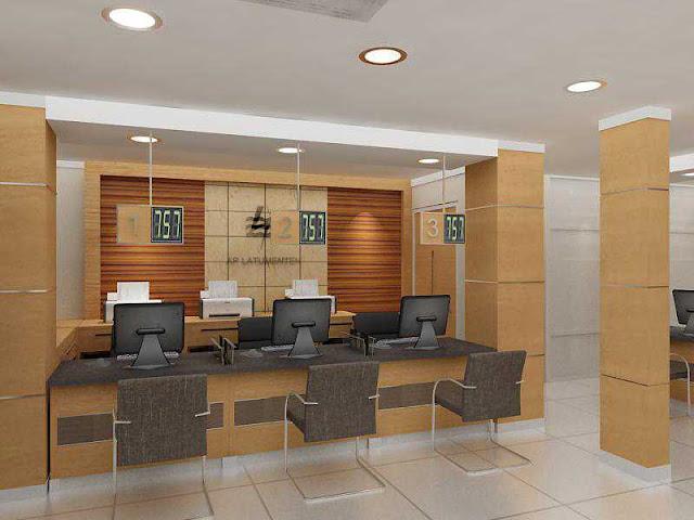 desain interior kantor minimalis terbaru