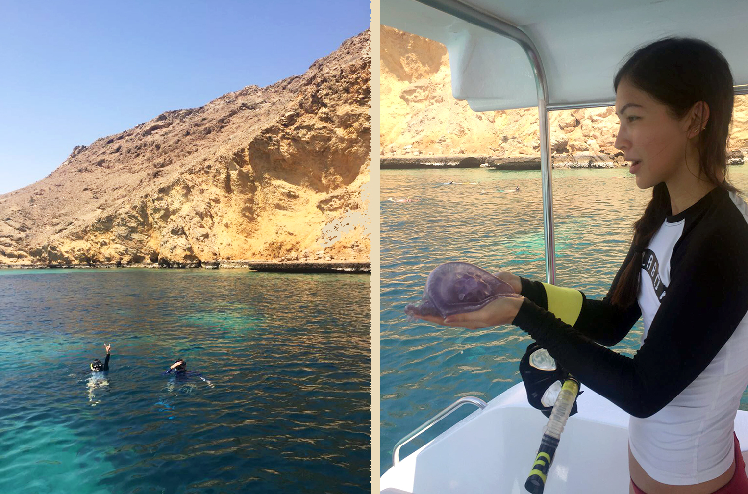 Euriental | luxury travel & style | snorkelling in Oman