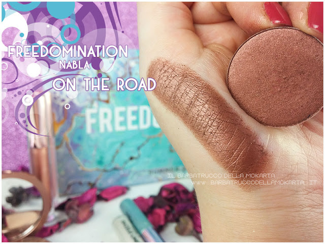on the road swatches nabla cosmetics freedomination collection summer eyeshadow