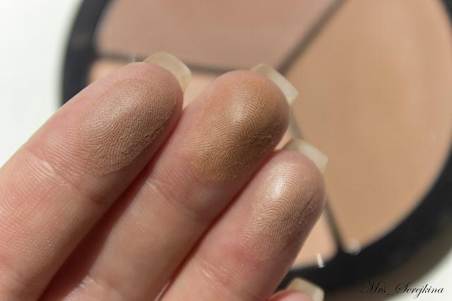 Многофункциональное средство IsaDora Face Sculptor в оттенке 03 Nude: свотчи