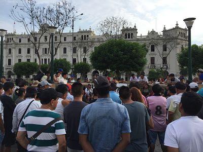 Plaza San Martin. LIma Peru
