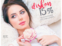 Diskon 15% Parfum Federico Mahora Luxury dan Hot Collection, 15-17 Februari 2018