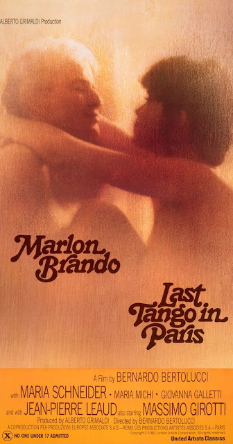 Last Tango in Paris Promotional poster