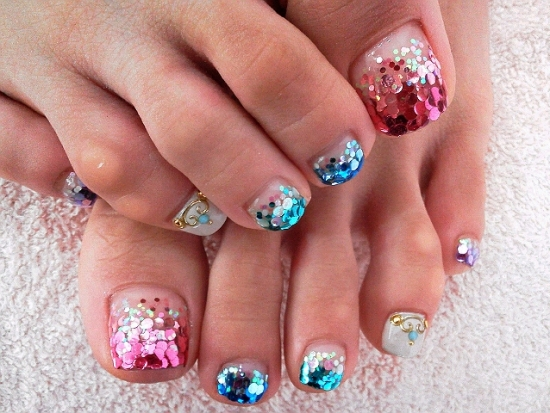 Cool Toe Nail Art Designs 2012 | world of fashion