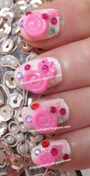 Lollipop Nail Design