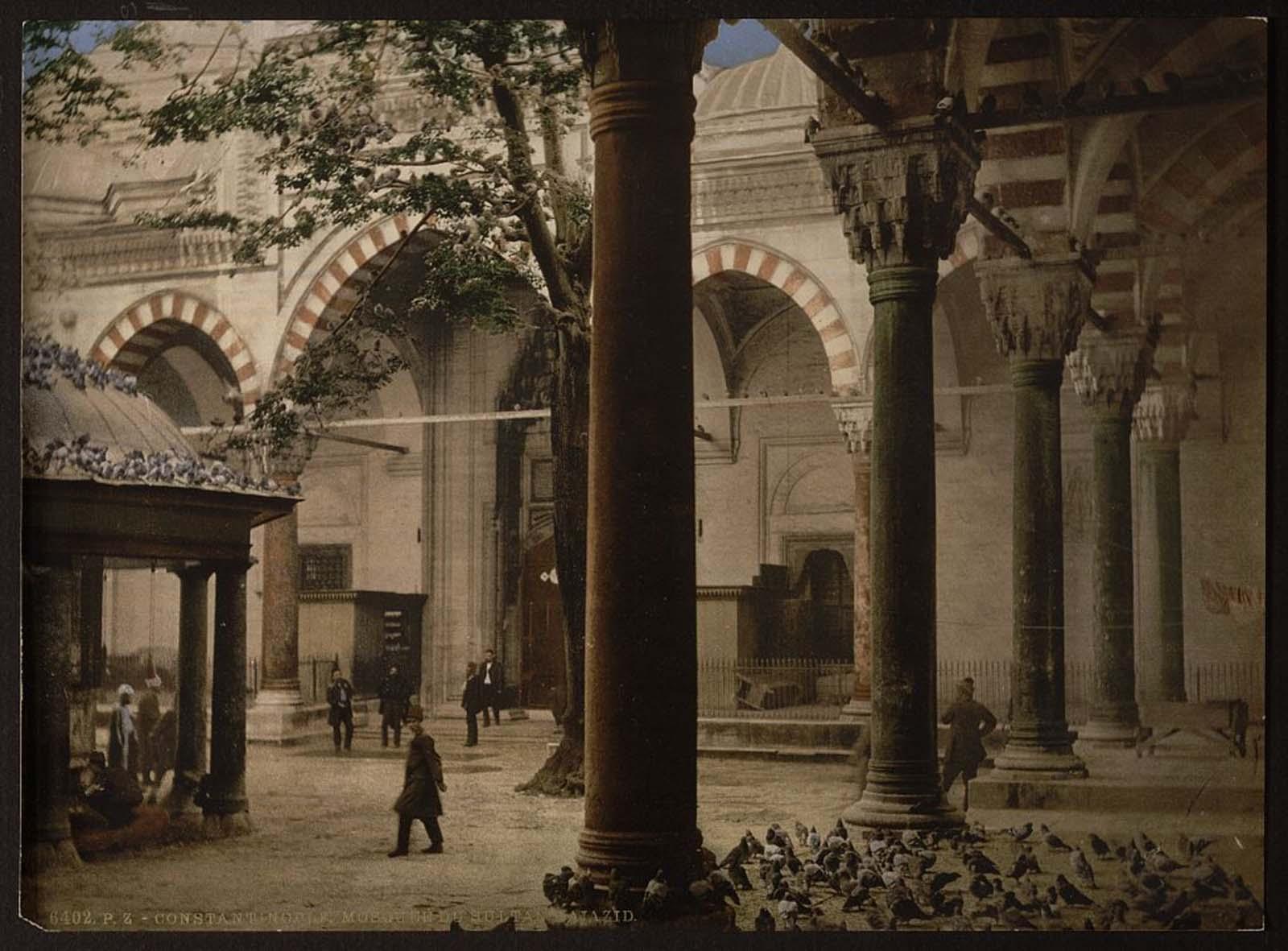 Sultan Bajazid's mosque, Constantinople.