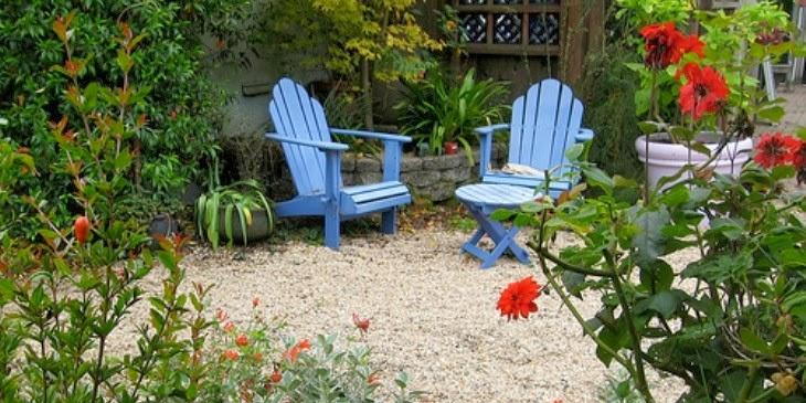 แบบเก้าอี้แต่งสวน