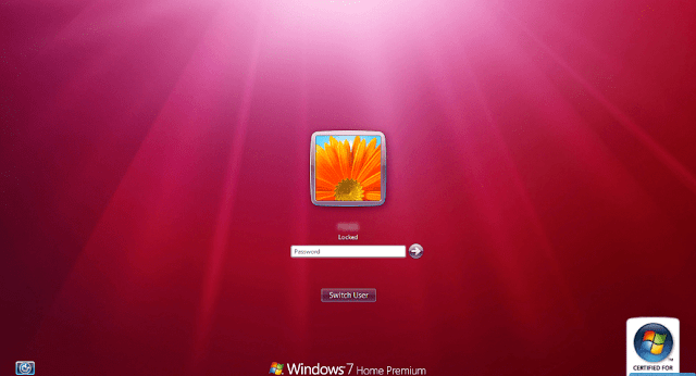 Change windows 7 login screen